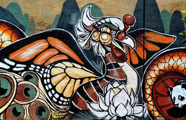 Exploring Oakland Murals